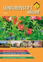 6. Ausgabe, 2. Quartal 2012 - Seniorenstift am Park