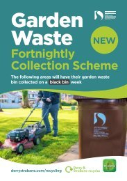 Garden Waste Collection Schedule October 2020