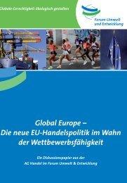 Global Europe - Forum Umwelt und Entwicklung