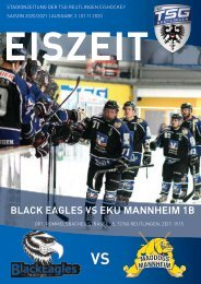 TSG Black Eagles vs. EKU Mannheim 1b Maddogs 01 11 2020