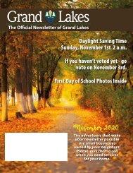 Grand Lakes November 2020