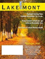 Lakemont November 2020