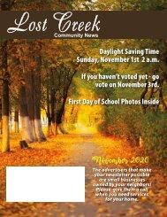 Lost Creek November 2020