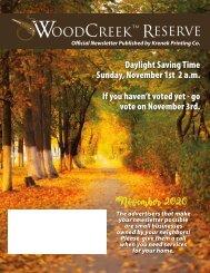 Woodcreek November 2020