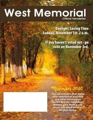 West Memorial November 2020