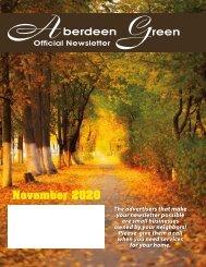 Aberdeen Green November 2020