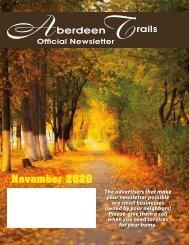 Aberdeen Trails November 2020