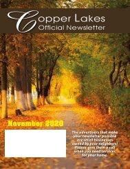 Copper Lakes November 2020