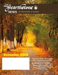 Hearthstone November 2020