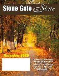 Stone Gate November 2020