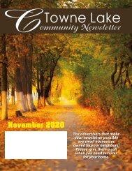 Towne Lake November 2020