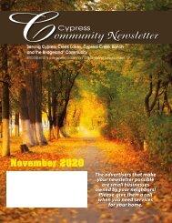 Cypress South November 2020