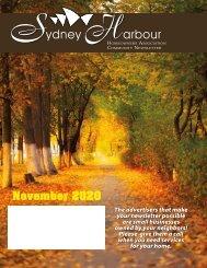Sydney Harbour November 2020