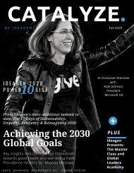 Catalyze Magazine Fall 2020