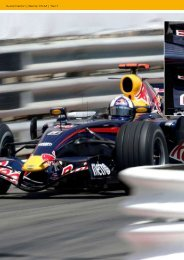 Mobiler Wartungsstützpunkt für die Formel 1