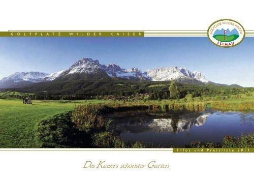"""""""GC Wilder Kaiser Ellmau"""" als PDF downloaden - Golfclub Wilder ..."""