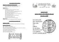 Gottesdienstanzeiger KW 01-02 2010 - Pfarrverband Anger-Aufham