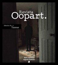 Edición No. 4 Revista Oopart: Terror