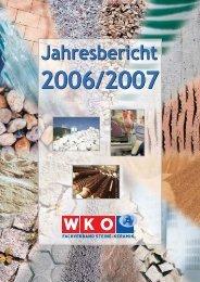 Jahresbericht 2006-2007 - Fachverband der Stein- und ...