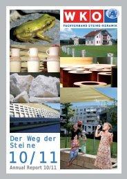 Keyfacts 2010 - Fachverband der Stein- und keramischen Industrie