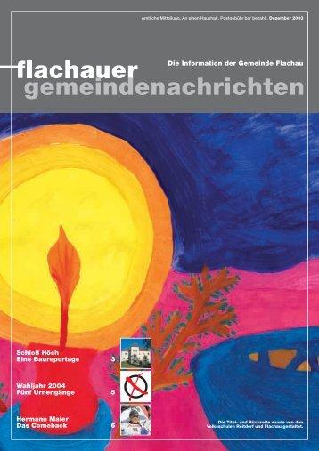 Ausgabe: 2003 (0 bytes) - Flachau - Salzburg.at