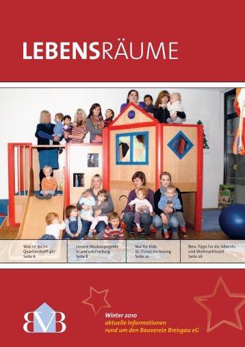 LEBENSRÄUME - Bauverein Breisgau eG
