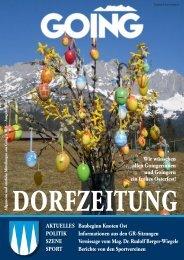 Dorfzeitung März 2008 - Going am wilden Kaiser - Land Tirol