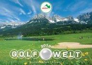 Partner 2010 - GolfWelt Wilder Kaiser