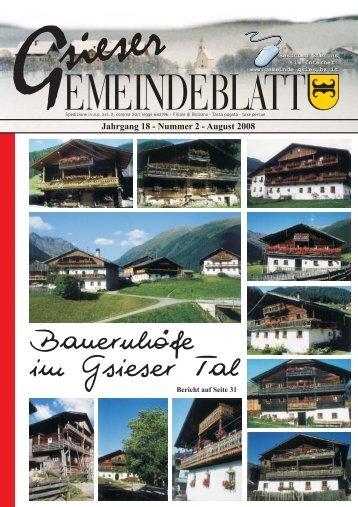 Nummer 2 August 2008