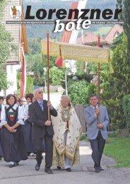 Lorenzner Bote - Ausgabe Juli/August 2008 (2,52
