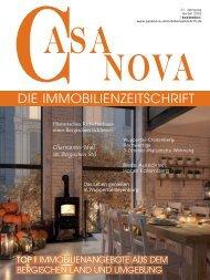 Casa Nova – Die Immobilienzeitschrift – Herbst 2020