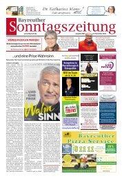 2020-11-01 Bayreuther Sonntagszeitung