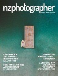 NZPhotographer Issue 37, November 2020