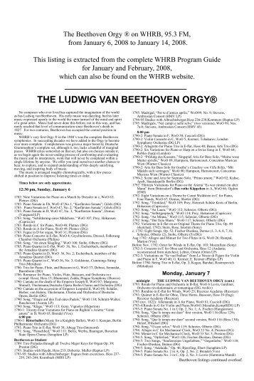 Beethoven essay