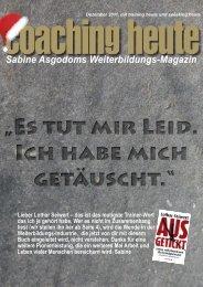 coaching heute 12/2011