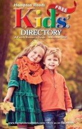 Hampton Roads Kids' Directory November 2020