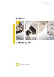 HARTING Neuheiten 2007 - BIBUS SK, sro