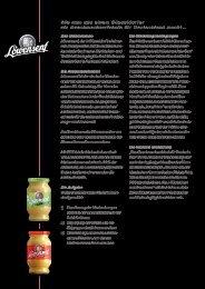 Fallbeispiele Löwensenf - Taste