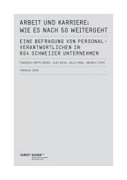 arbeit und karriere: wie es nach 50 weitergeht - diePensionierung.ch