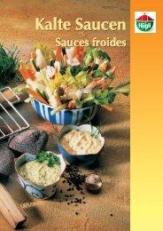 Kalte Saucen - bei Hügli Food Service