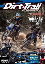 Dirt and Trail Magazine October 2020