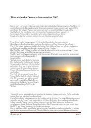 Logbuch Ostsee 1 - Vor dem Wind