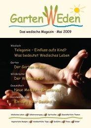 GartenWeden - das wedische Magazin