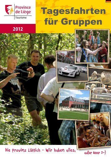 Die Provinz Lüttich - Wir haben alles, 2012 - Province de Liège