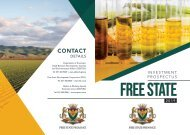 Free State Investment Prospectus
