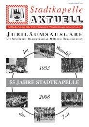 Ausgabe 34 / April 2008 - Stadtkapelle Wasserburg am Inn eV