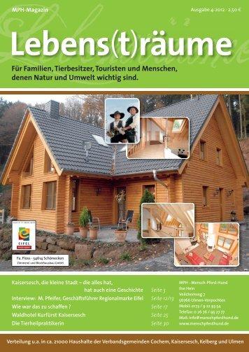 MPH Magazin 4/2012 als PDF - MPH - Mensch Pferd Hund