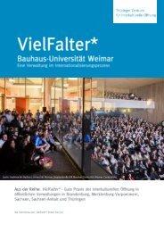 VielFalter* Bauhaus-Universität-Weimar
