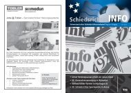 SchiedsrichterINFO - Schweizerischer Schiedsrichter Verband