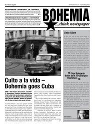 Culto a la vida – Bohemia goes Cuba - Cheyenne